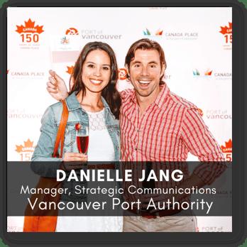 Danielle Jang, Vancouver Port Authority