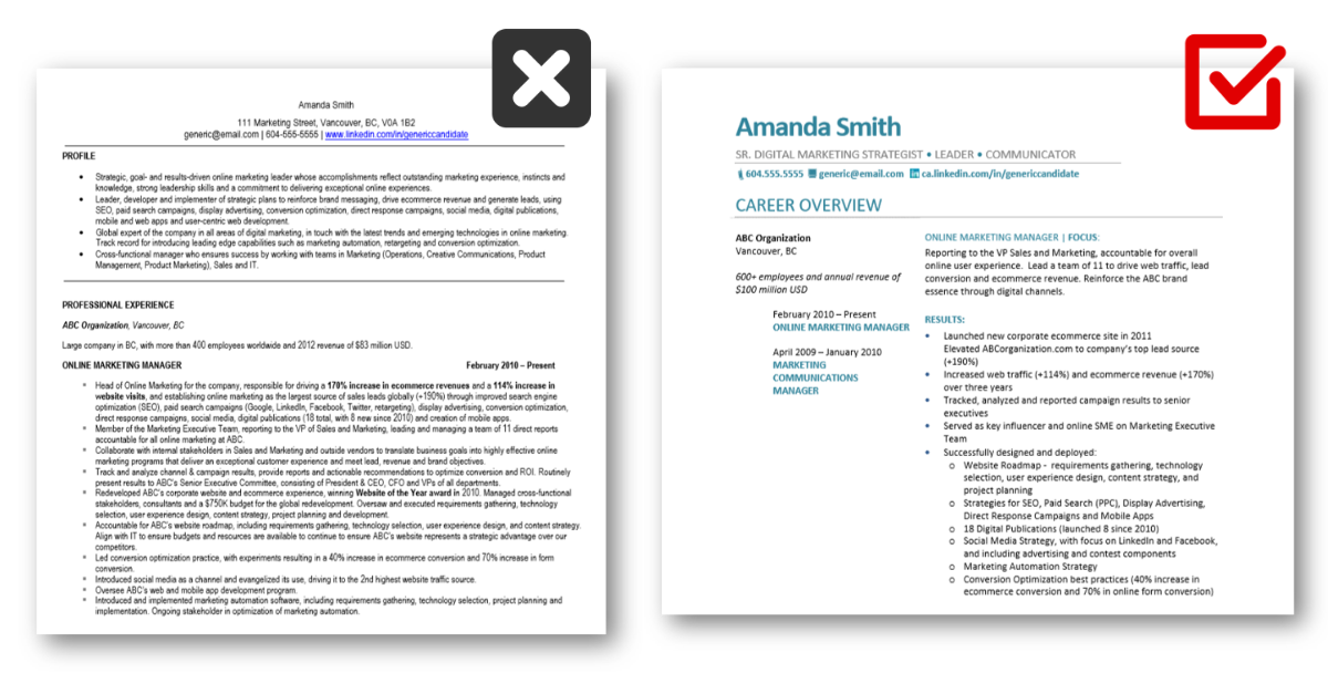 5 ways to improve your resume layout